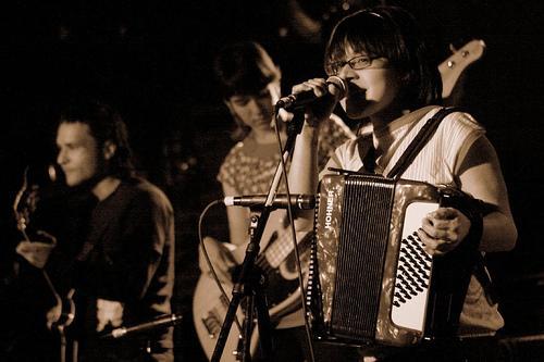 Balún en el Mercury Lounge en NYC (foto extraida de su Myspace)