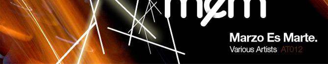 Marzo es Marte (banner promocional)