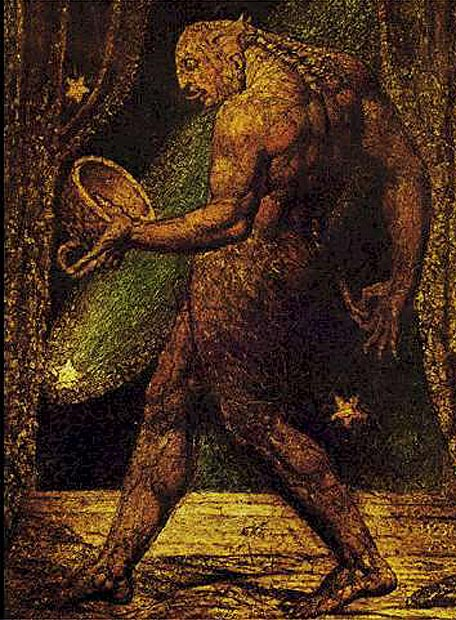 El fantasma de una pulga por William Blake